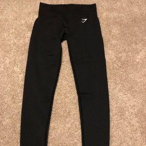 Gymshark grey leggings - size medium